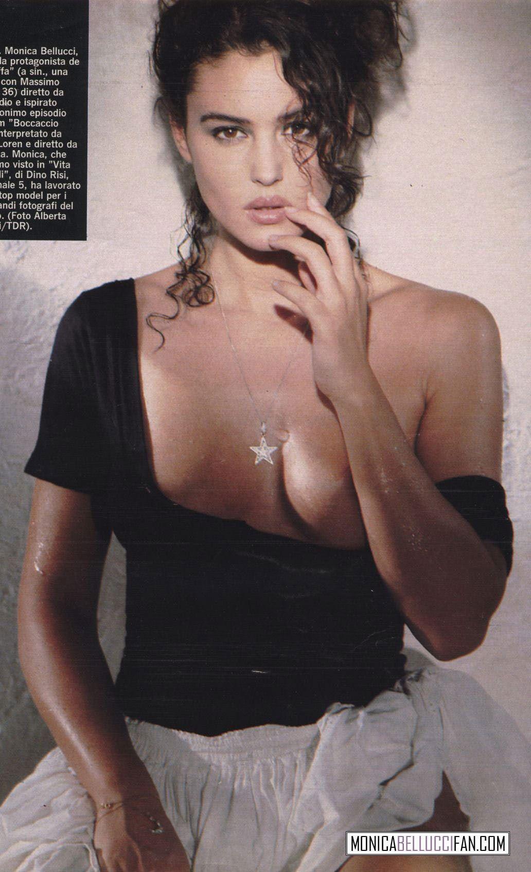 【外人】イタリア人女優モニカ・ベルッチ(Monica Bellucci)の大胆おっぱい露出ポルノ画像 4102