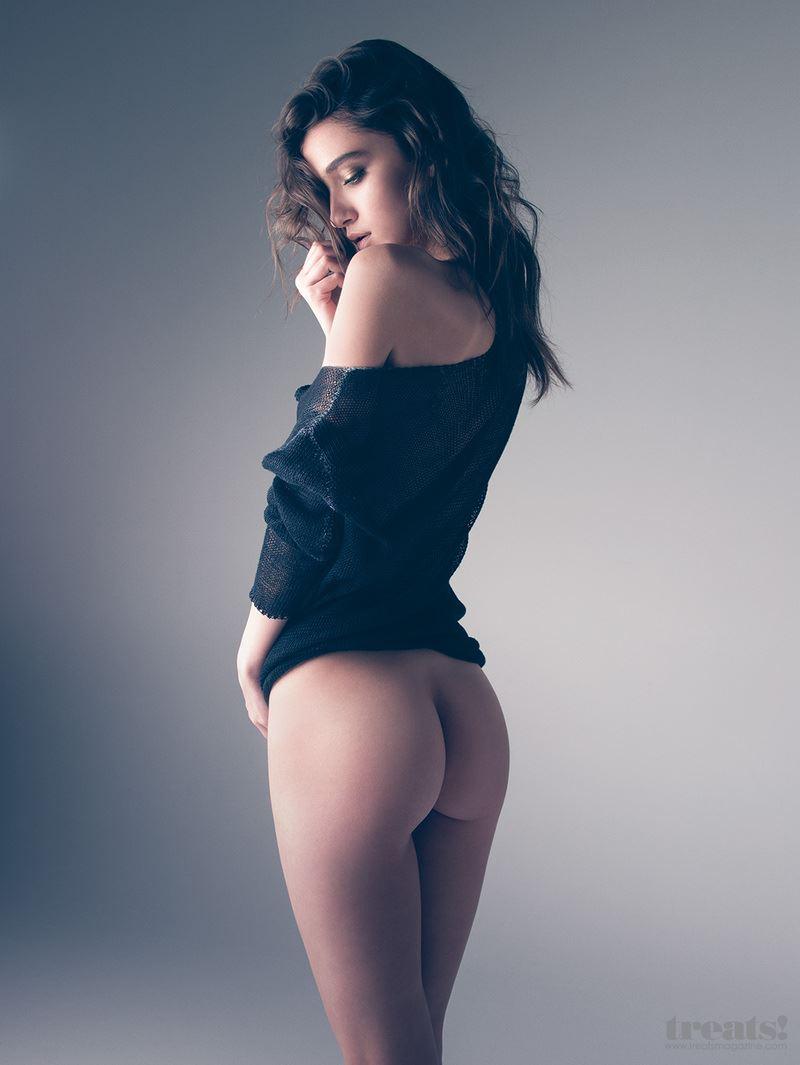 【外人】男前なポーランドの美人モデルPaula Bulczynskaの巨乳おっぱいポルノ画像 414
