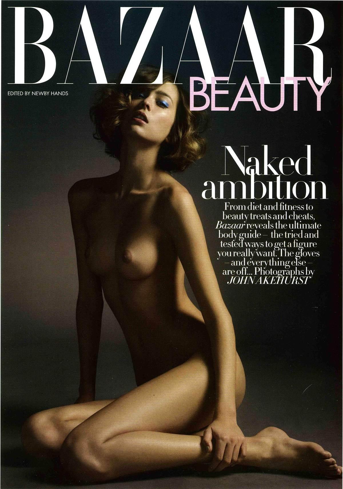 【外人】フランス人スーパーモデルのモルガン・デュブレ(Morgane Dubled)がファッション誌で乳首をさらるおっぱいポルノ画像 4163