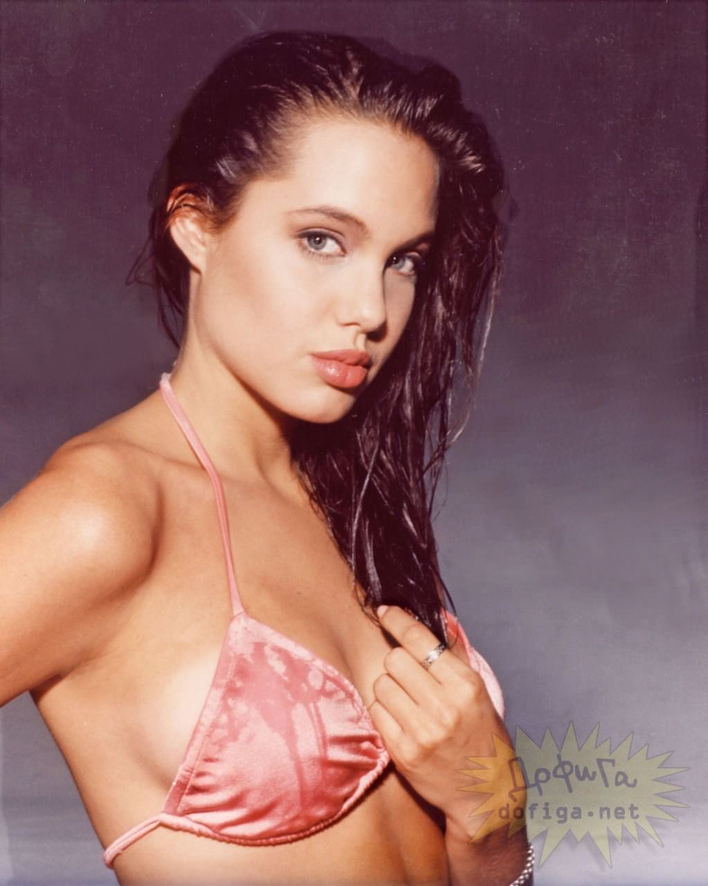 【外人】世界トップレベルの美女アンジェリーナ·ジョリー(Angelina Jolie)のポルノ画像 4237