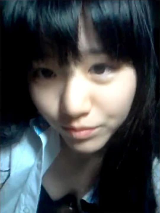 【外人】韓国の可愛い学生が余裕の全裸ネット公開してるポルノ画像 4293