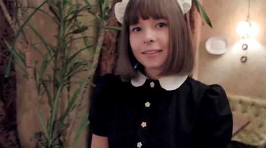 【外人】超かわいいロシア人メイドの美少女ポルノ画像 446
