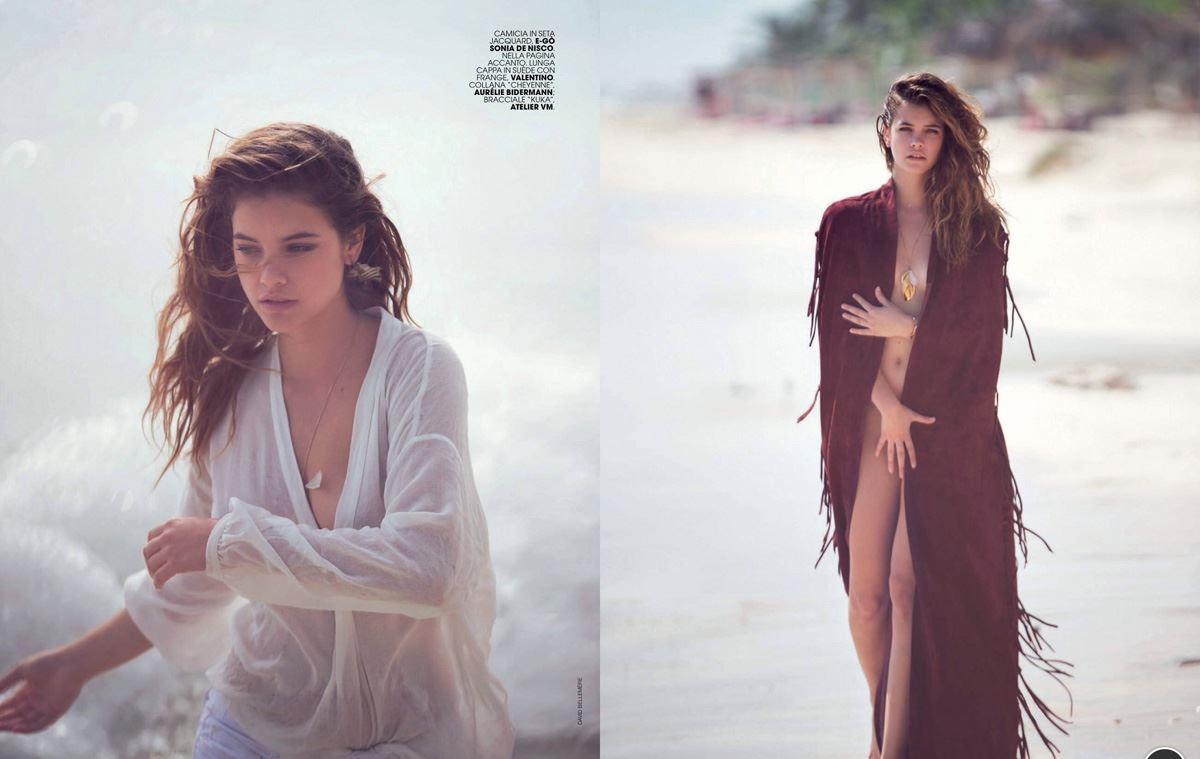 【外人】グリコのCMで有名なハンガリーのモデルのバルバラ・パルヴィン(Barbara Palvin)のセミヌードポルノ画像 47