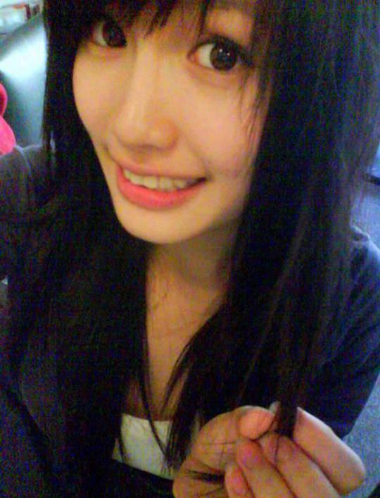 【外人】台湾人美少女の泡泡(パオパオ)が可愛すぎて勃起しちゃう自画撮りポルノ画像 476