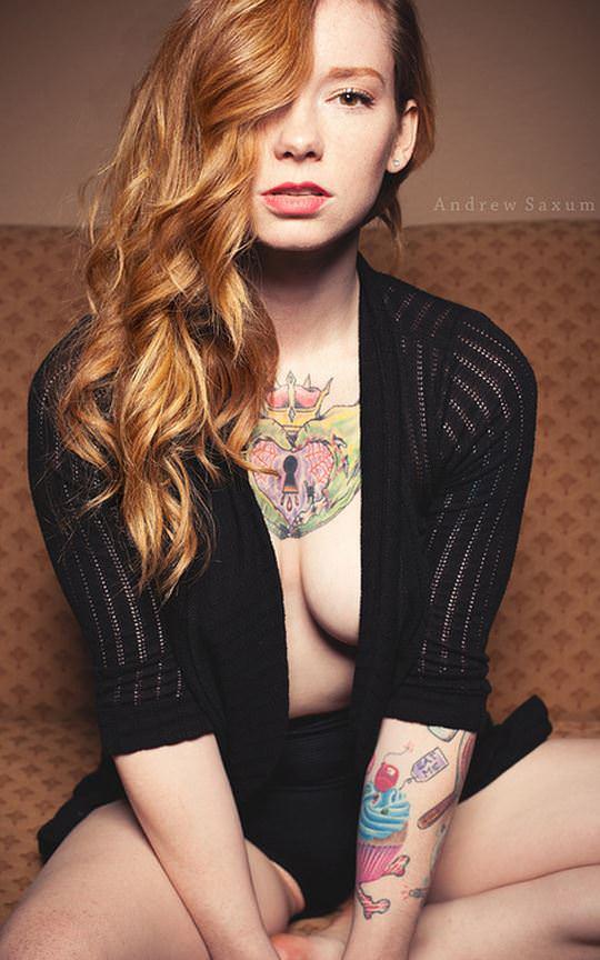 【外人】無名ファッションモデルが美乳おっぱいを晒してるポルノ画像 4810