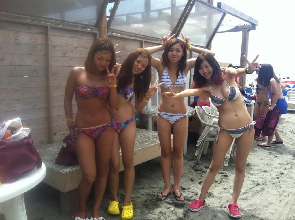 【外人】海外美少女たちのセクシービキニのポルノ画像 4916