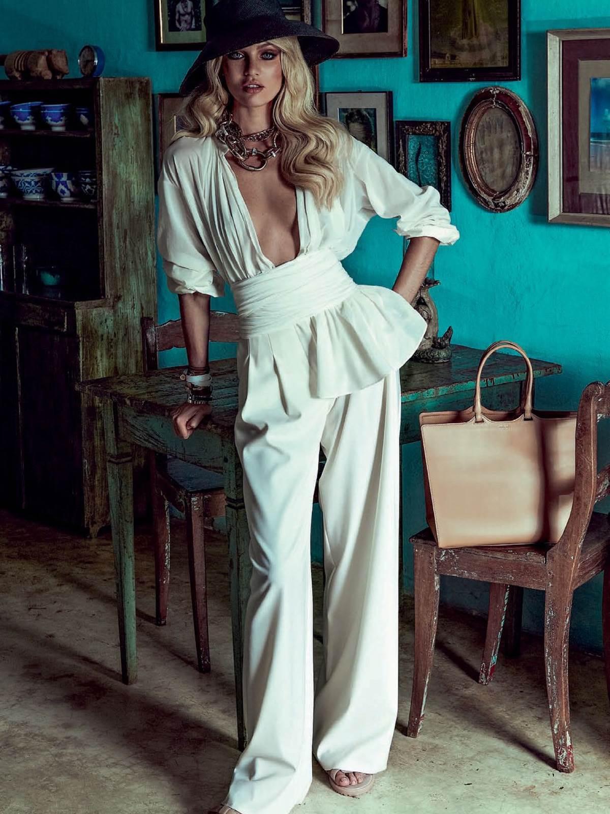 【外人】南アフリカ出身のキャンディス・スワンポール(Candice Swanepoel)がブロンドヘアーをなびかせるセクシーポルノ画像 582