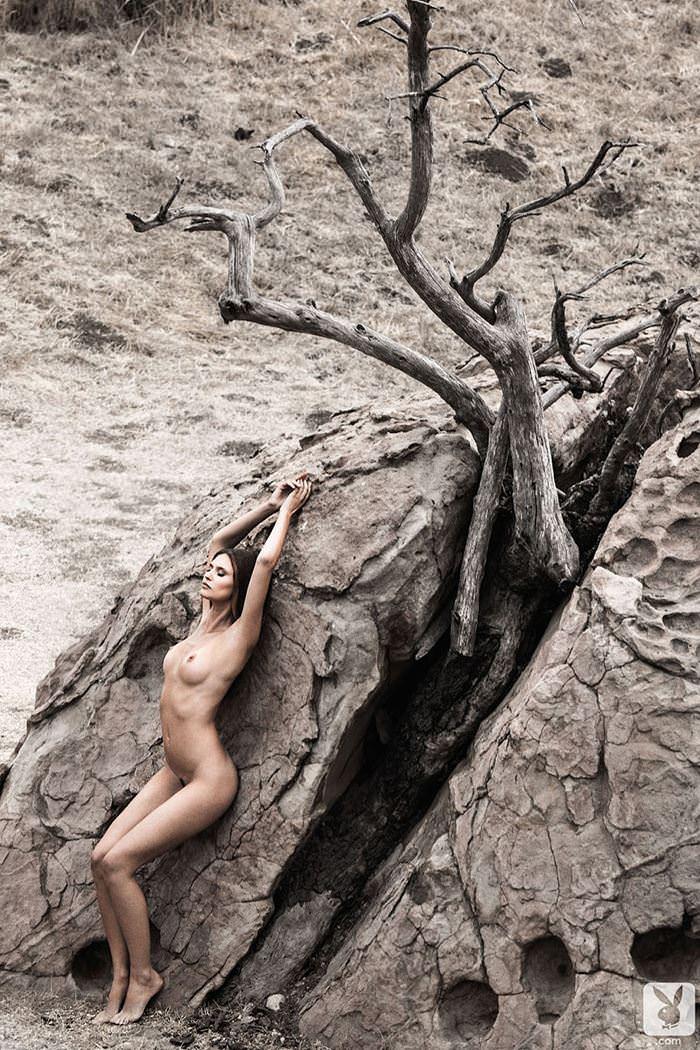 【外人】プレイボーイに掲載のビアンカ・バルティ(Bianca Balti)の芸術的露出フルヌードのポルノ画像 6138