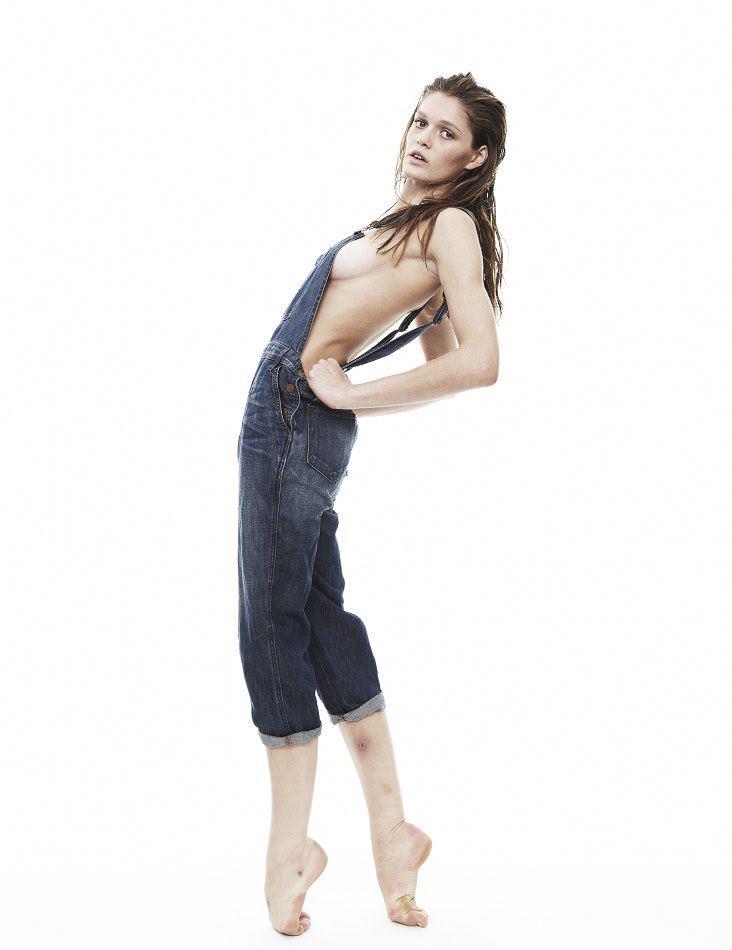 【外人】アメリカ人モデルの超絶美女リベカ・アンダーヒル(Rebekah Underhill)のフルヌードポルノ画像 6244