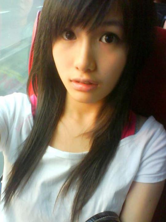 【外人】台湾人美少女の泡泡(パオパオ)が可愛すぎて勃起しちゃう自画撮りポルノ画像 671