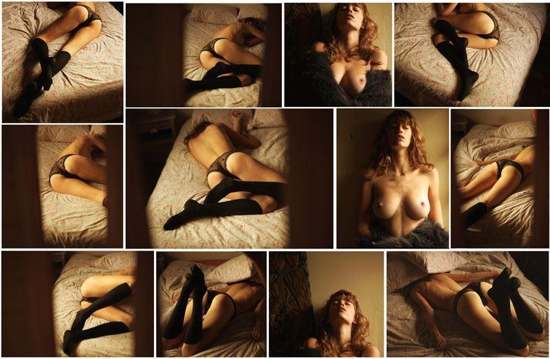 【外人】ベルギー人モデルEliza Sysが魅惑的な芸術的ヌードを披露するポルノ画像 713