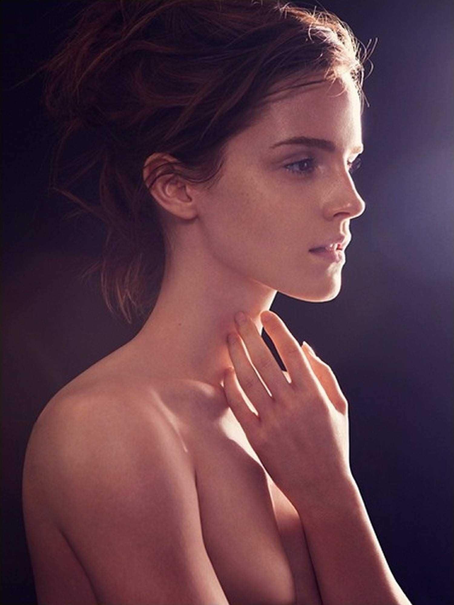 【外人】激カワセレブのエマ・ワトソン(Emma Watson)の胸チラぽろりなおっぱい流出ポルノ画像 752