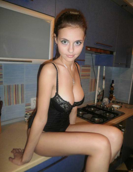 【外人】すっげー可愛いのに爆乳なさすが海外美女のポルノ画像 8164