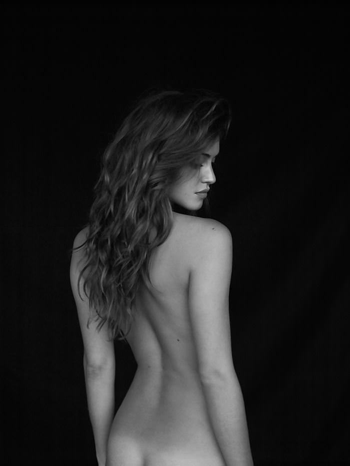 【外人】写真家クリス·新谷によるJehane Gigi Paris(ジハーン ジジ パリス)のモノクロセクシーヌードポルノ画像 9230