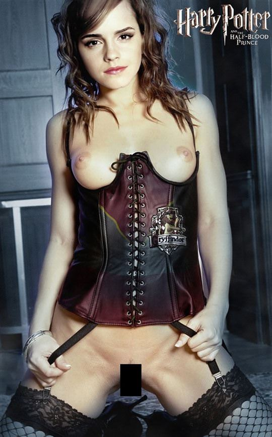 【外人】激カワセレブのエマ・ワトソン(Emma Watson)の胸チラぽろりなおっぱい流出ポルノ画像 948