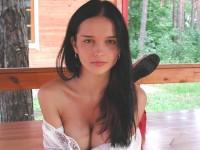 【外人】ウクライナ人モデルの巨乳美女ジェーニャ( Jenya)のエロエロ全裸のポルノ画像