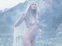 【外人】プレイボーイに掲載のビアンカ・バルティ(Bianca Balti)の芸術的露出フルヌードのポルノ画像