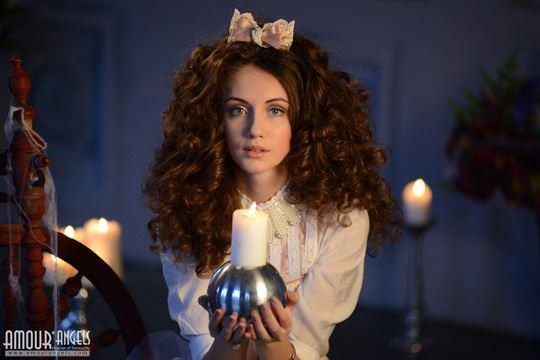 【外人】ロシア人美少女期待の新人サブリナの(Sabrina)のおまんこご開帳ポルノ画像 1135