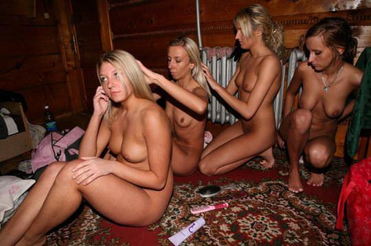 【外人】北欧などの寒い地域でサウナを楽しむ女の子たちのポルノ画像 1167