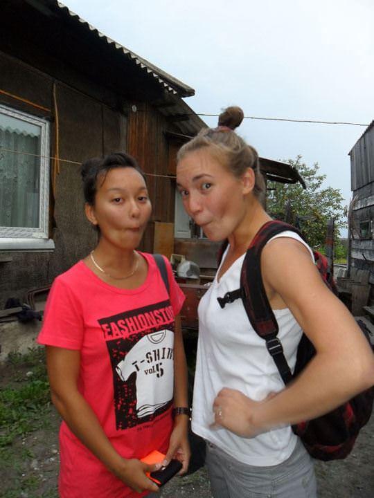 【外人】ロシア人の仲良し素人女子大生5人がサウナでパイパン記念撮影ポルノ画像 1293