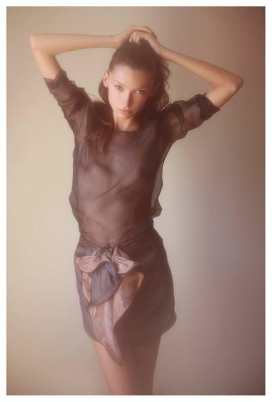 【外人】誰もが認める北欧系美女の芸術的セミヌードポルノ画像 1412