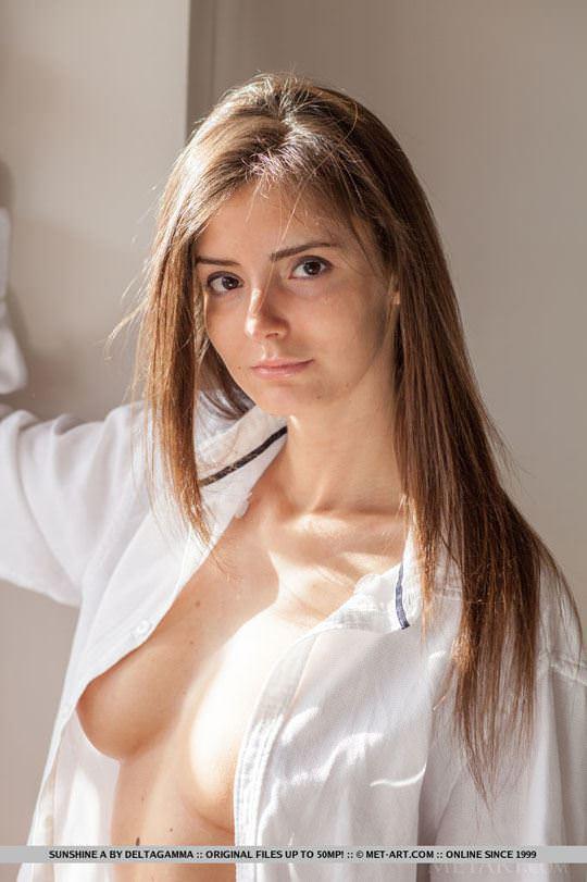 【外人】めっちゃ美人で清楚なロシアン美女のサンシャイン(Sunshine)のパックリまんことおっぱいのポルノ画像 207
