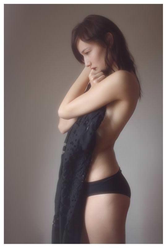 【外人】誰もが認める北欧系美女の芸術的セミヌードポルノ画像 2214