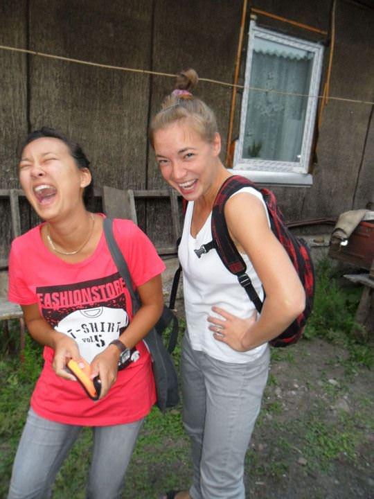 【外人】ロシア人の仲良し素人女子大生5人がサウナでパイパン記念撮影ポルノ画像 2256
