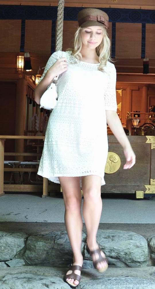 【外人】Eカップ巨乳おっぱいの金髪AV女優、ミア・楓・キャメロンが結婚引退したセックスポルノ画像 2313