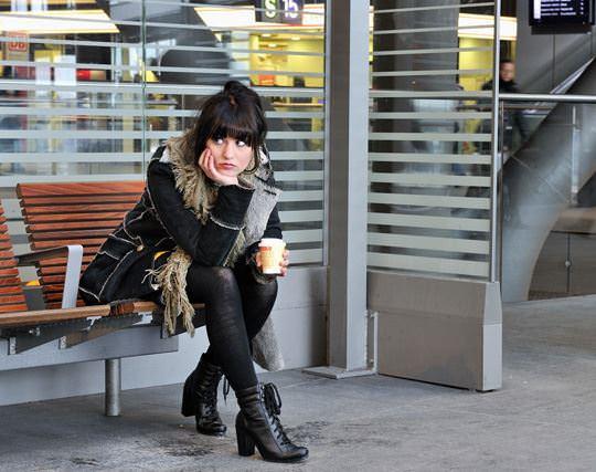 【外人】可愛いヨーロッパの素人女性を街撮りしたポルノ画像 2811