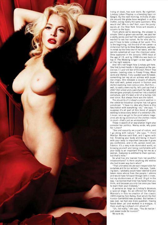 【外人】リンジーローハン(Lindsay Lohan)がマリリン・モンロー風セクシーポーズでおっぱい晒すポルノ画像 3134