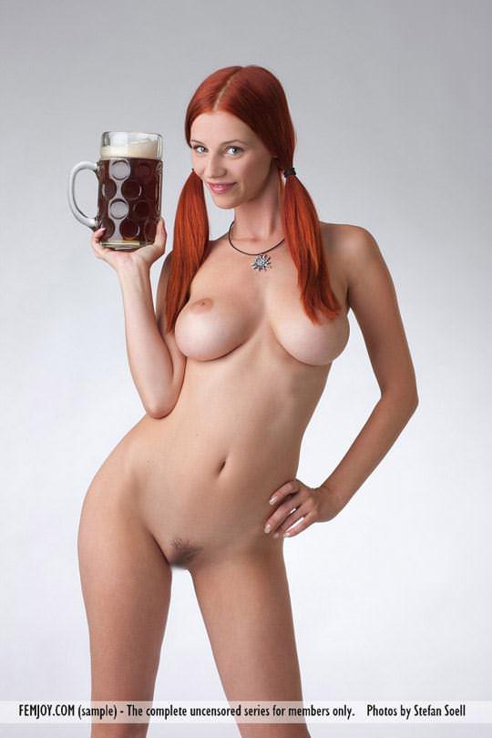 【外人】赤毛巨乳モデルのアリエル(Ariel)が友人誘っておまんこ開放ポルノ画像 3412