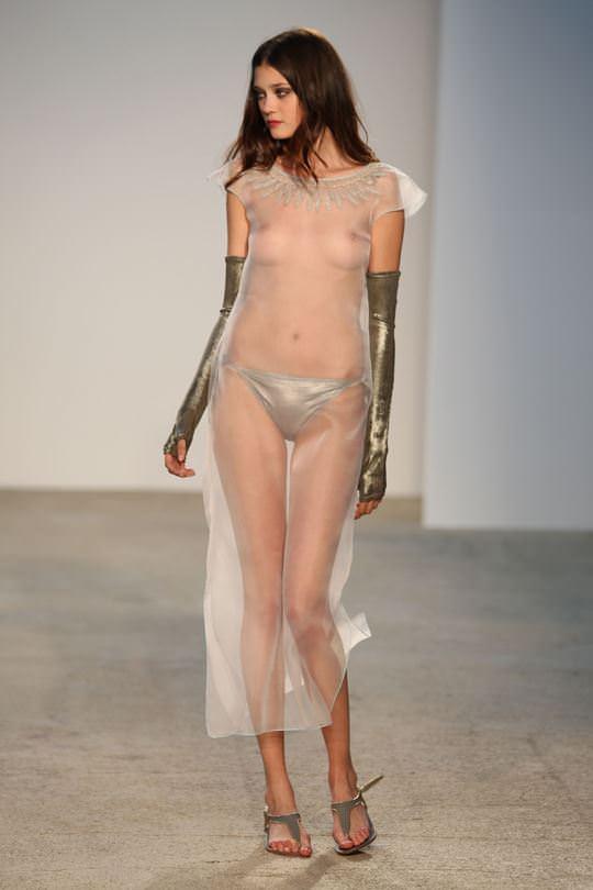 【外人】ルーマニア人スーパーモデルのダイアナ・モルドヴァン(Diana Moldovan)のシースルー美乳おっぱいが見れるポルノ画像 446
