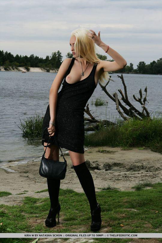 【外人】人気のウクライナ美女のキラ(Kira W)の美しい芸術的なヌードポルノ画像 478