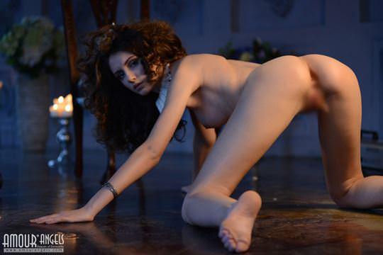 【外人】ロシア人美少女期待の新人サブリナの(Sabrina)のおまんこご開帳ポルノ画像 544