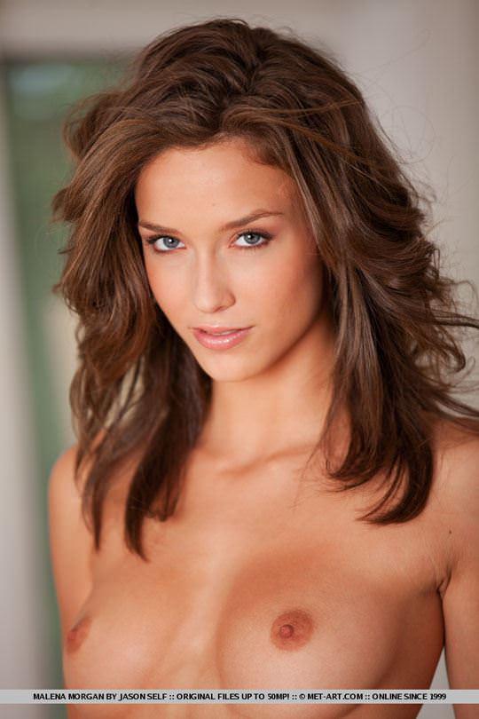 【外人】ゴージャスな顔立ちのアメリカン美女モデルのマレーナ·モーガン(Malena Morgan)がアナルレズプレイのポルノ画像 559