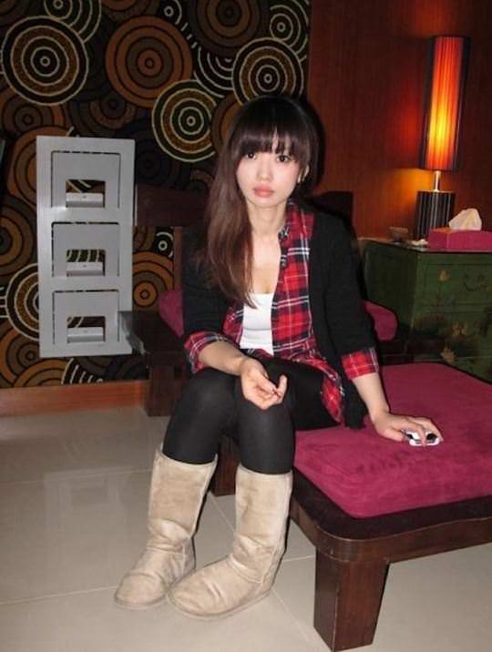 【外人】台湾人美女がセックスを強要されてハメ撮り顔射されてるポルノ画像 60