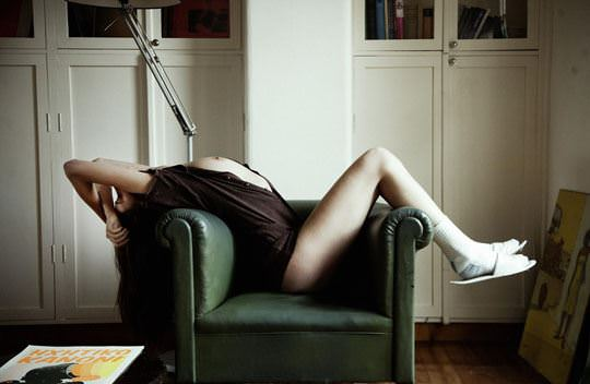 【外人】大人な女性のマヤ・シモンセン(Maja Simonsen)の芸術的でありエロティックなポルノ画像 695