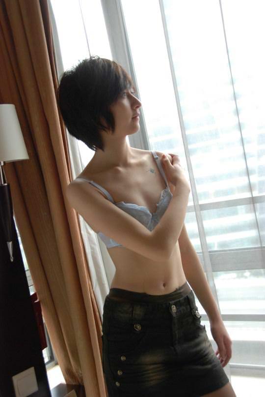 【外人】超絶美少女の中国人モデルのシュエ・ルー(薛璐 Xiao Lu)の貧乳おっぱいとおまんこポルノ画像 812