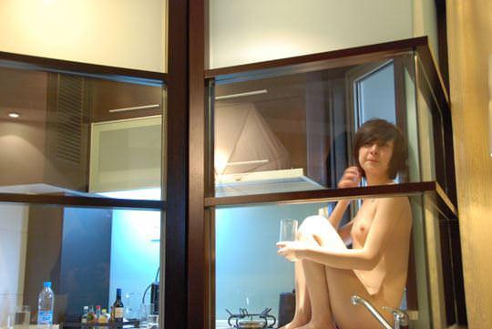 【外人】綺麗な体をした中国人モデルの貧乳美少女シュエ・ルー(薛璐 Xiao Lu)のおまんこポルノ画像 854