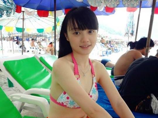 【外人】中国人ブロガーの美少女の旅行中の素人ポルノ画像 01125