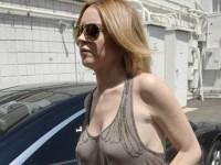 【外人】アメリカ人女優リンジー・ローハン(Lindsay Lohan)の豊胸おっぱいの横乳がめちゃエロいポルノ画像