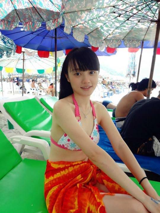 【外人】中国人ブロガーの美少女の旅行中の素人ポルノ画像 10100