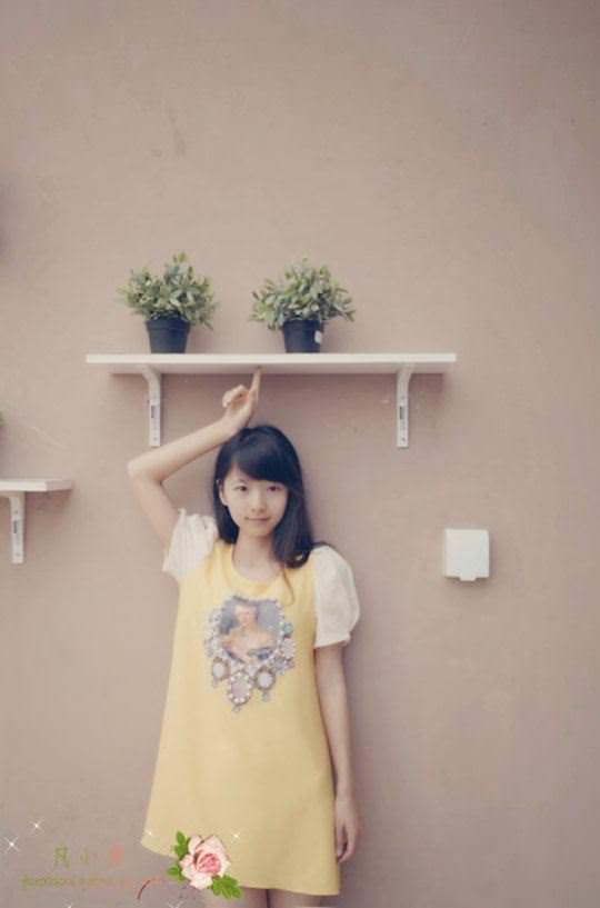 【外人】中国人の超絶美少女ひよこちゃんが童顔ロリ顔過ぎて26歳に見えないポルノ画像 1050