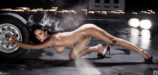 【外人】プレイボーイ誌に掲載されたウクライナ人ユージニア(Eugenia Diordiychuk)の美爆乳おっぱいヌードのポルノ画像 11111