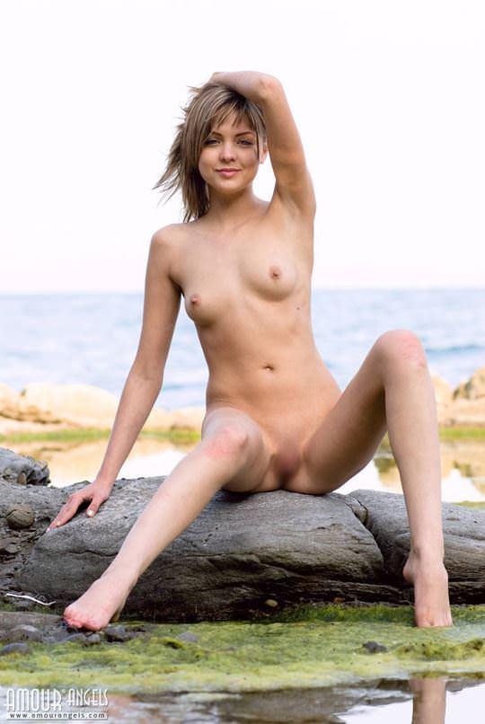 【外人】ロシアの貧乳ロリ洋ティーンのユリア(Yuliya)が可愛すぎるポルノ画像 1123