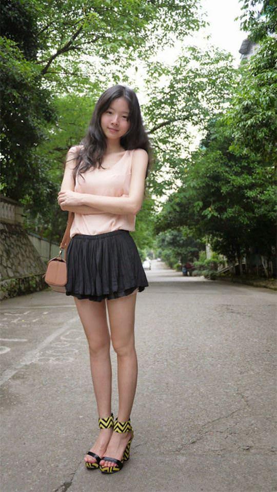 【外人】中国人の超絶美少女ひよこちゃんが童顔ロリ顔過ぎて26歳に見えないポルノ画像 1186