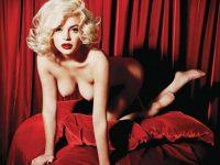 【外人】リンジーローハン(Lindsay Lohan)がマリリン・モンロー風セクシーポーズでおっぱい晒すポルノ画像