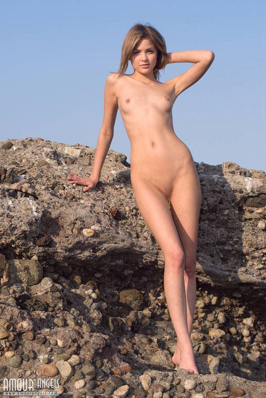 【外人】ロシアの貧乳ロリ洋ティーンのユリア(Yuliya)が可愛すぎるポルノ画像 1220