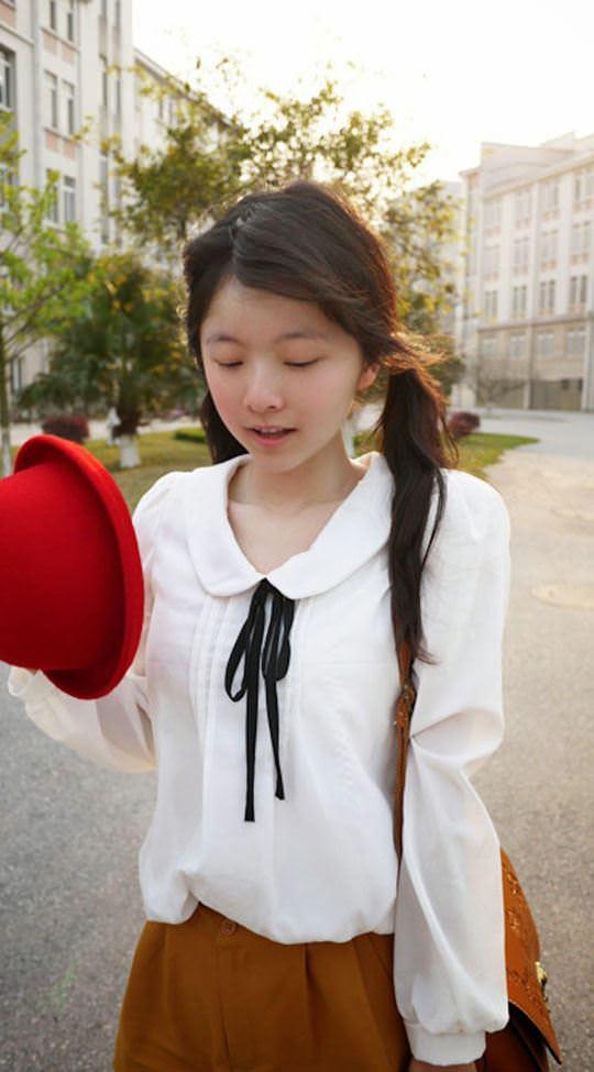 【外人】中国人の超絶美少女ひよこちゃんが童顔ロリ顔過ぎて26歳に見えないポルノ画像 1250